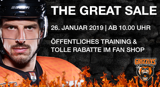 THE GREATE SALE - 26.01.2019