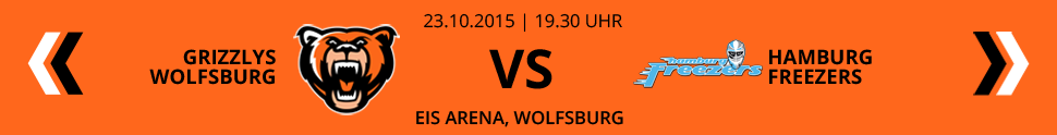 Grizzlys Wolfsburg VS Hamburg Freezers