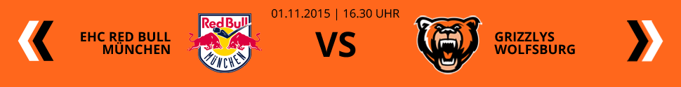 EHC Red Bull M�nchen VS Grizzlys Wolfsburg
