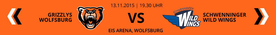 Grizzlys Wolfsburg VS Schwenninger Wild Wings