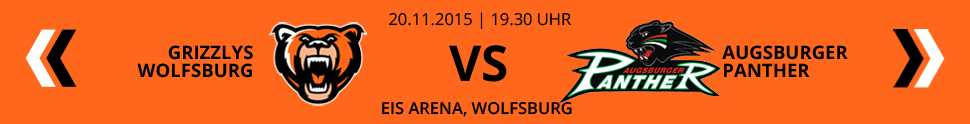 Grizzlys Wolfsburg VS Augsburger Panther