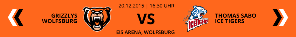 Grizzlys Wolfsburg VS Thomas Sabo Ice Tigers