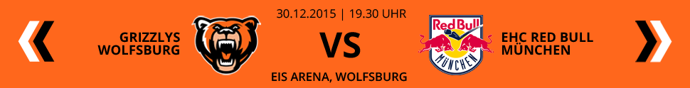 Grizzlys Wolfsburg VS EHC Red Bull M�nchen
