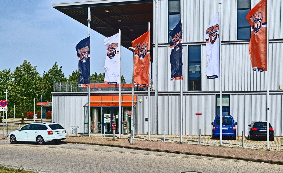Fan Shop Grizzlys Wolfsburg