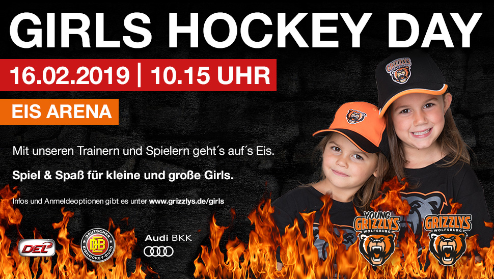 GIRLS HOCKEY DAY 2019 - Grizzlys Wolfsburg
