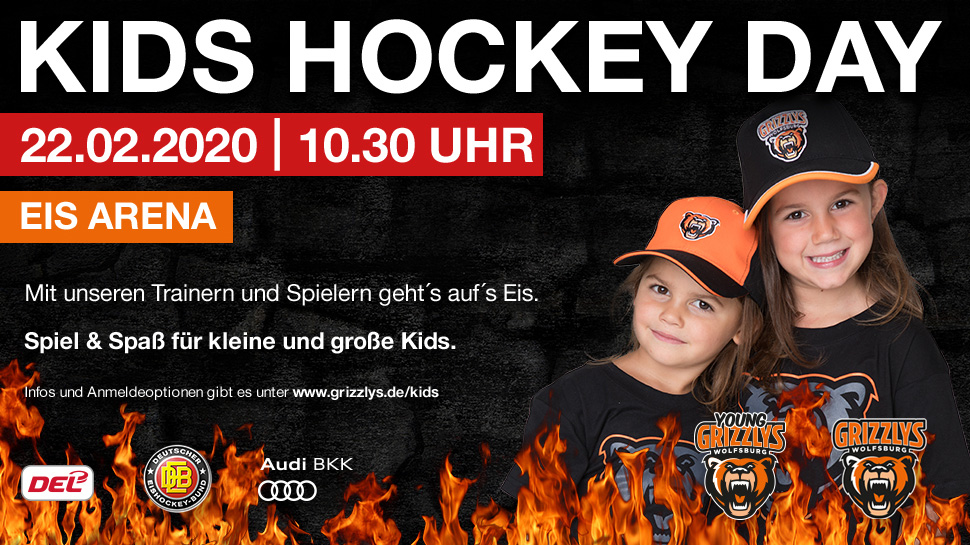 KIDS HOCKEY DAY 2020 - Grizzlys Wolfsburg