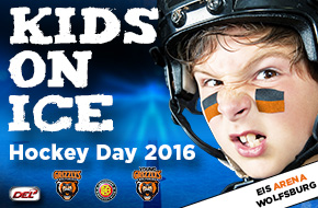 Kids Hockey Day - Grizzlys Wolfsburg
